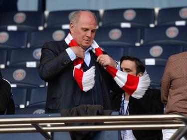 Bayern-Boss Uli Hoeneß musste in Paris eine Niederlage der FCB-Frauen erleben