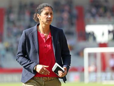 Steffi Jones bereitet ihr Team für die EM in den Niederlanden vor