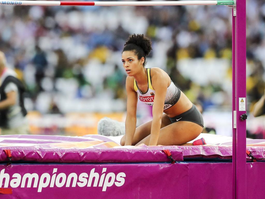 Marie-Laurence Jungfleisch hat eine WM-Medaille knapp verpasst