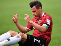 Edgar Prib hat sich beim Traifning von Hannover 96 verletzt.