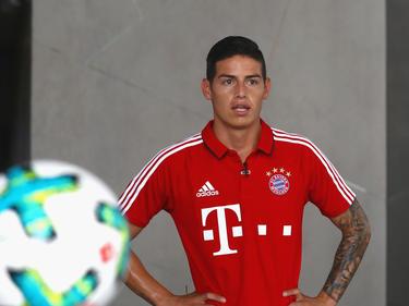 James Rodríguez wartet in München auf seinen ersten Pflichtspiel-Einsatz