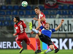 Der FC Ingolstadt setzte sich nach 90 Minuten gegen Bielefeld durch