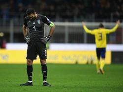 Buffon hat 175 Länderspiele für Italien absolviert