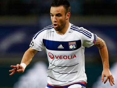 Valbuena con la camiseta del Olympique de Lyon (Foto: Getty)