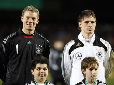 Im März 2009 spielen Neuer und Höwedes gemeinsam in der U21