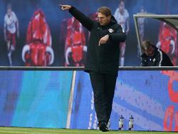 Ralph Hasenhüttl ist mit Leipzig auf Rekordjagd