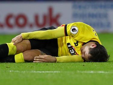 El delantero de 29 años cayó al suelo entre evidentes gestos de dolor. (Foto: Getty)