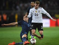 Timo Werner hat gegen England sein Länderspiel-Debüt gefeiert