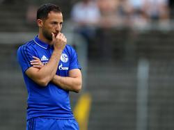 Domenico Tedesco will den Schalke-Kader noch etwas umbauen