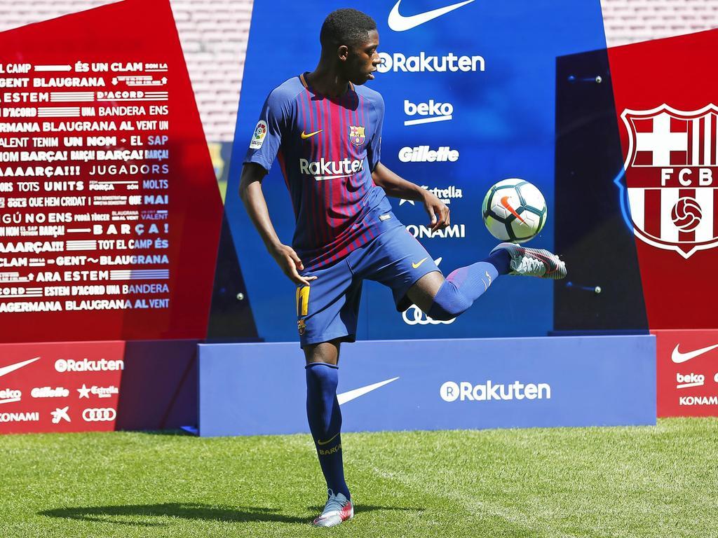 MITTELFELD: Ousmane Dembélé | 105 Mio. Euro