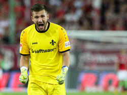 Muss die Torwarthandschuhe ein paar Wochen auslassen: Darmstadt-Keeper Daniel Heuer Fernandes