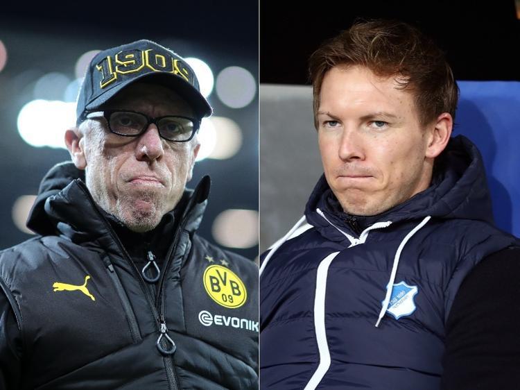 Peter Stöger hat beim BVB übernommen, Julian Nagelsmann könnte folgen