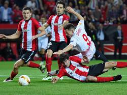 Krachende Zweikämpfe zwischen Sevilla und Bilbao