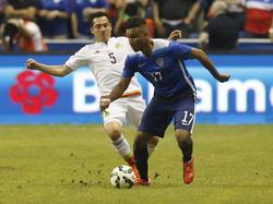 Agudelo, de regreso a la selección luego de tres años, marcó el segundo gol en el 72. (Foto: Getty)
