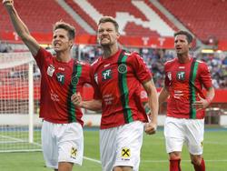 Der FC Wacker Innsbruck präsentierte sich in Torlaune