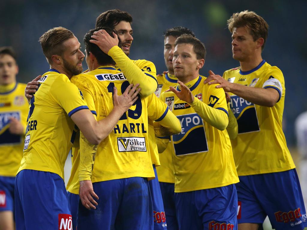 Erste liga news 3 0 st p lten fixiert bundesliga for Ergebnisse erste liga