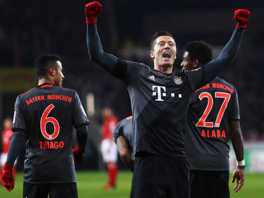 Robert Lewandowski ist mit Bayern München wieder in der Erfolgsspur