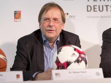 DFB-Vize Rainer Koch hat die Sorgen vieler Regionalligisten beiseite geschoben