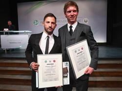 Domenico Tedesco (l.) und Julian Nagelsmann (r.) machten gemeinsam den Trainerschein