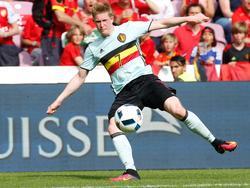 Kevin De Bruyne soll Belgien ins Finale führen