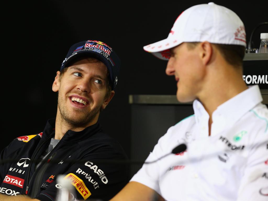 Vettel und Schumacher lernten sich auch als Kontrahenten kennen