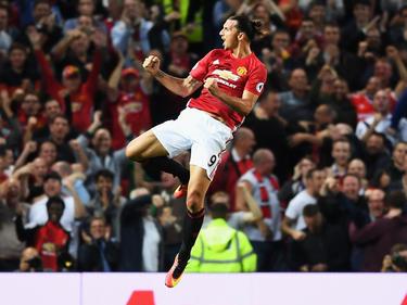 Schon jetzt Fanliebling in Manchester: Zlatan Ibrahimović