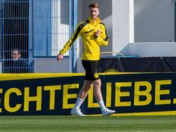 Marco Reus will in der Rückrunde verletzungsfrei bleiben