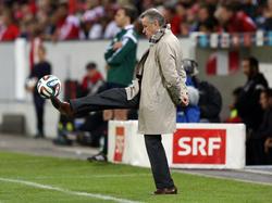 Ottmar Hitzfeld sieht dem Duell zwischen Bayern und Dortmund mit Spannung entgegen