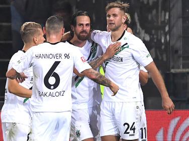 Martin Harnik brachte Hannover 96 zwischenzeitlich in Front