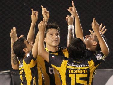 El equipo amarillo no tuvo rival ante el Sportivo Luqueño
