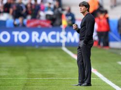 Joachim Löw erwartet ein ganz enges Spiel