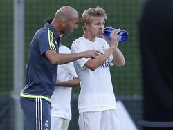 Zinédine Zidane will das Beste aus Martin Ødegaard herausholen