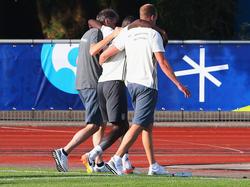 Antonio Rüdiger verletzte sich im Training der deutschen Nationalmannschaft