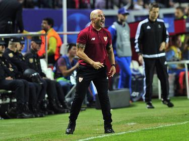 Sampaoli se mostró contento con la actuación del brasileño Ganso. (Foto: Imago)