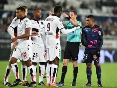 Balotelli fue otra vez expulsado en la Ligue 1. (Foto: Imago)