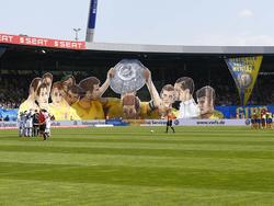Der VfL Wolfsburg greift im Braunschweiger Stadion zu besonderen Maßnahmen