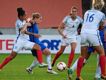 Englands Ladys gingen als Sieger vom Feld