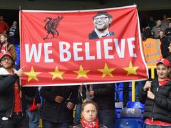 Die Fans des FC Liverpool stehen hinter Jürgen Klopp