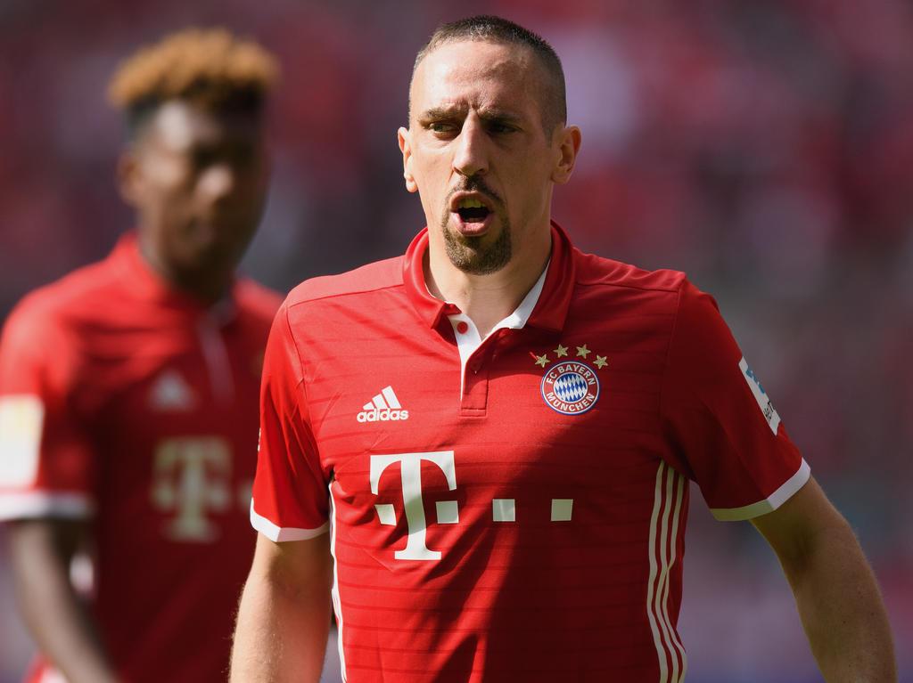 Franck Ribéry ist im Pokalfinale unangenehm aufgefallen