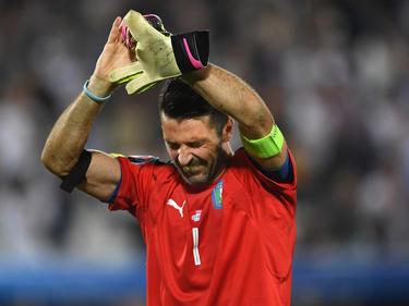 Gianluigi Buffon kontne die Tränen nach dem bitteren Elfmeter-Aus gegen Deutschland kaum zurückhalten