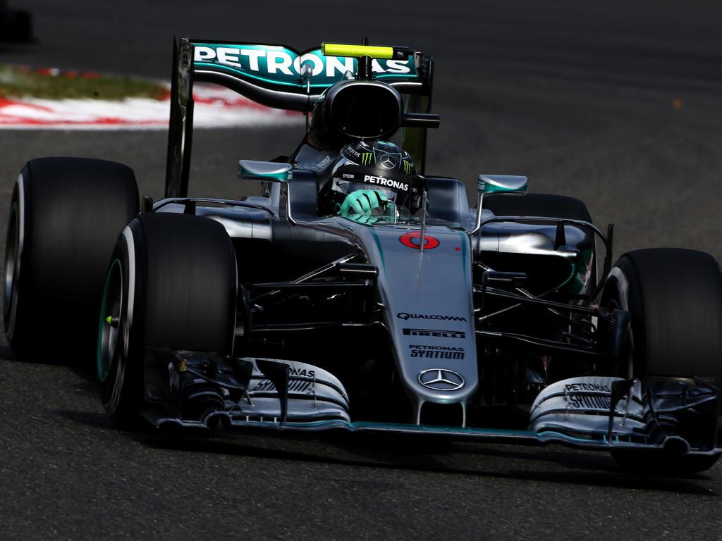 Die hohen Reifendrücke brachten Mercedes in Bedrängnis