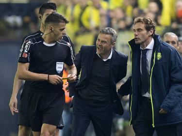 Für Villarreal ein paar Karten, für daheim Real-Kleinigkeiten: Schiedsrichter Jesús Gil Manzano