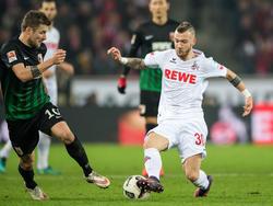 Marcel Hartel (r.) verlässt den 1. FC Köln
