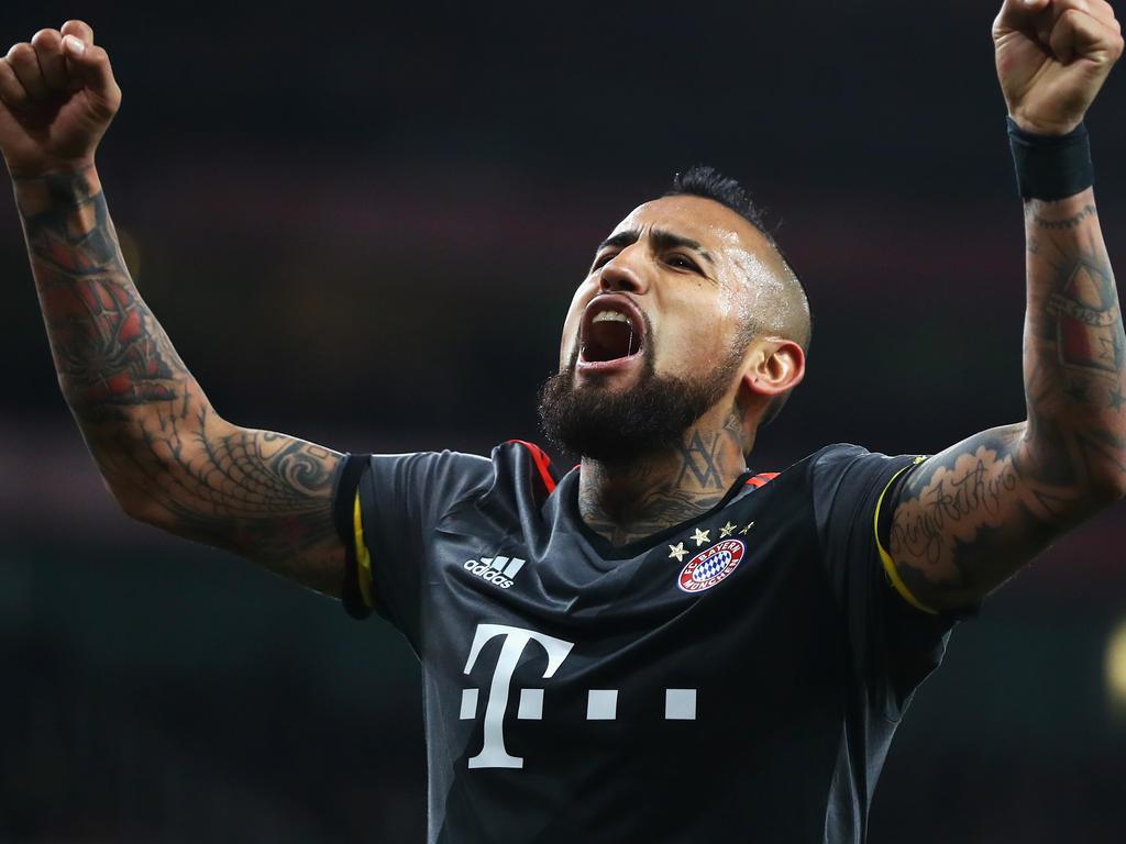 Verlängert Bayern München mit Vidal?