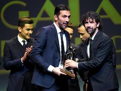 Bester Spieler der Serie A 2017: Gianluigi Buffon (M.)