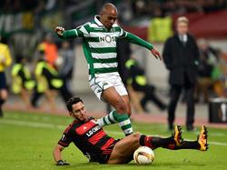 João Mário spielte auch in der EL gegen Bayer Leverkusen