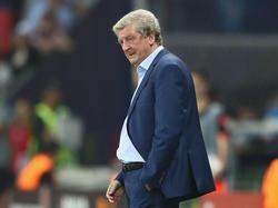 Roy Hodgson nahm seinen Hut nach der peinlichen Niederlage gegen Island