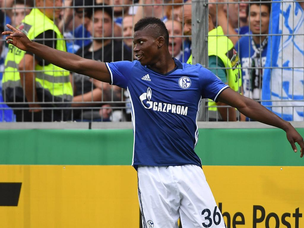 Breel Embolo erzielte im DFB-Pokal bereits einen Treffer für sein neues Team