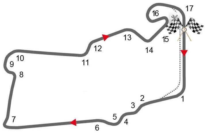 Das Streckenprofil von Silverstone