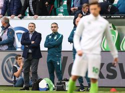 Klaus Allofs ist mit einigen Dingen in Wolfsburg nicht zufrieden